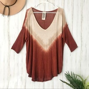 Free People | Tie Dye Tunic Top